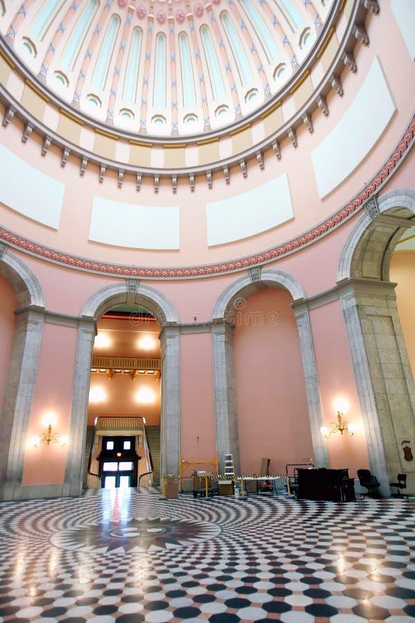 Statehouse dell'Ohio rotunda immagini stock libere da diritti