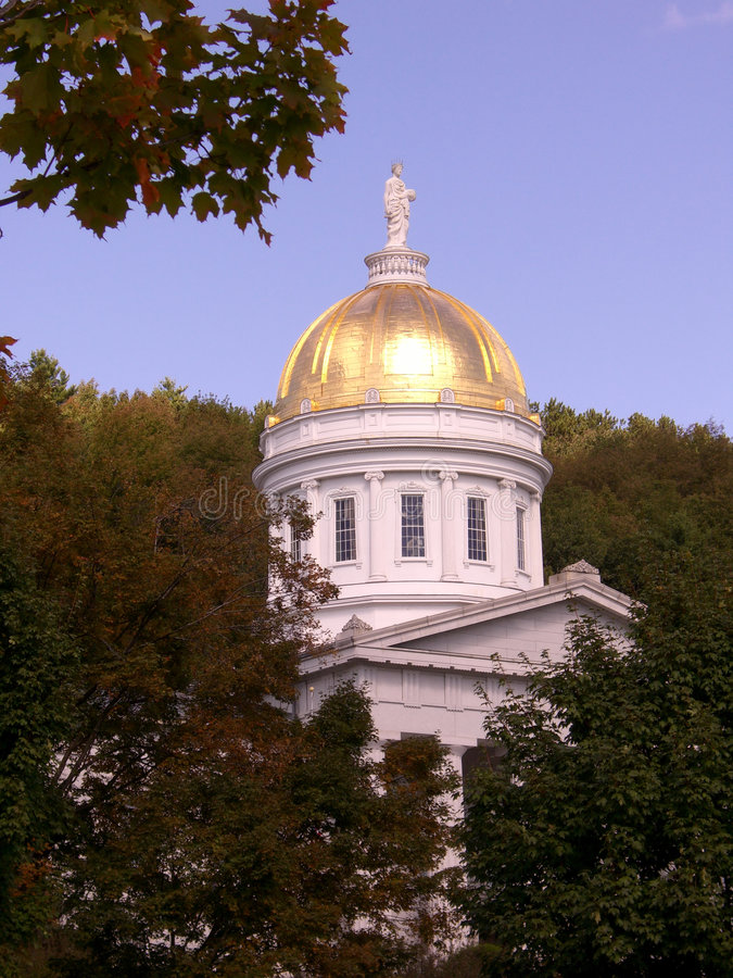 Download Statehouse dome stock image. Image of statehouse, reflection - 1272927