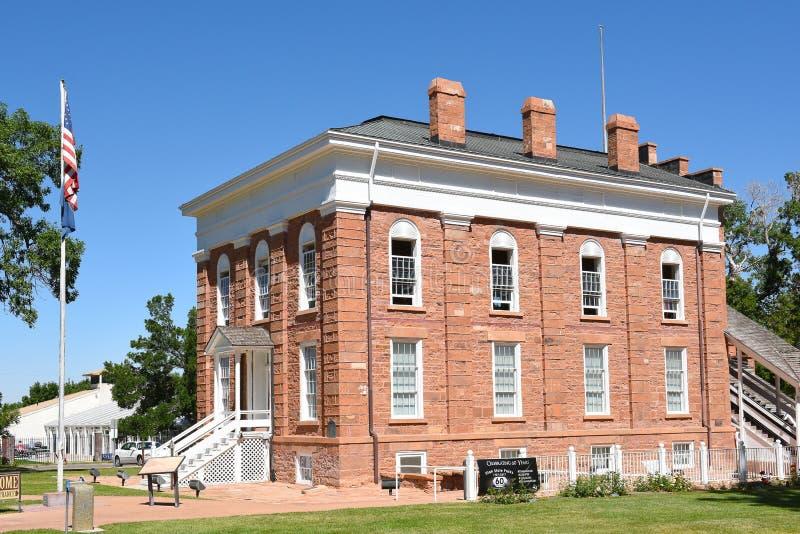 Statehouse territorial Utah imágenes de archivo libres de regalías
