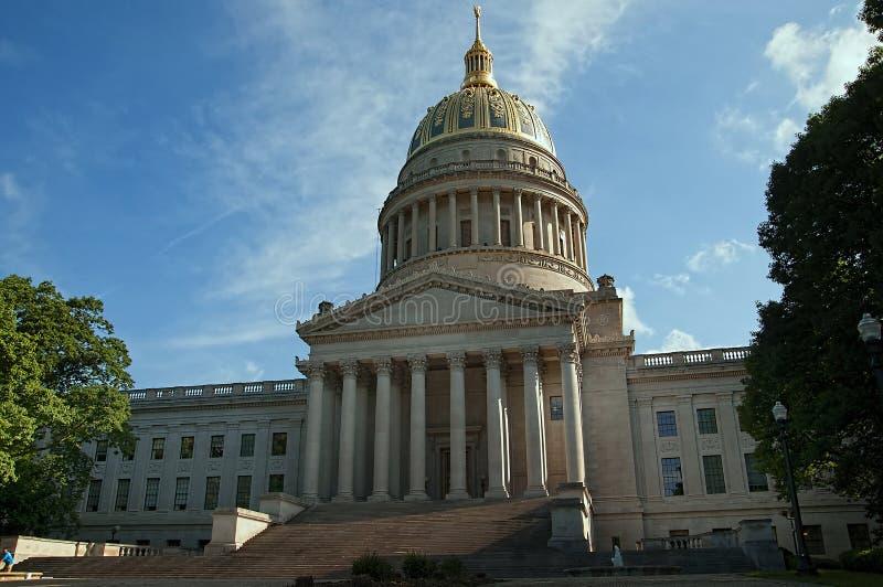 Statehouse van West-Virginia in Charleston West Virginia de V.S. royalty-vrije stock afbeeldingen