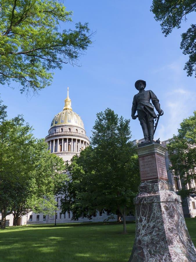 Statehouse van West-Virginia in Charleston West Virginia de V.S. stock foto