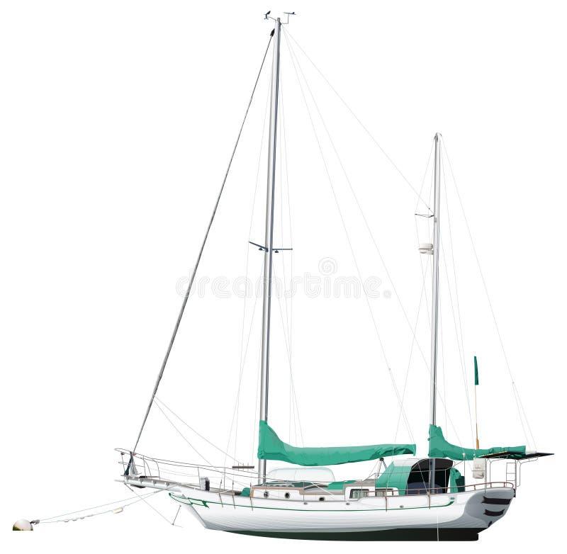Statek ilustracji