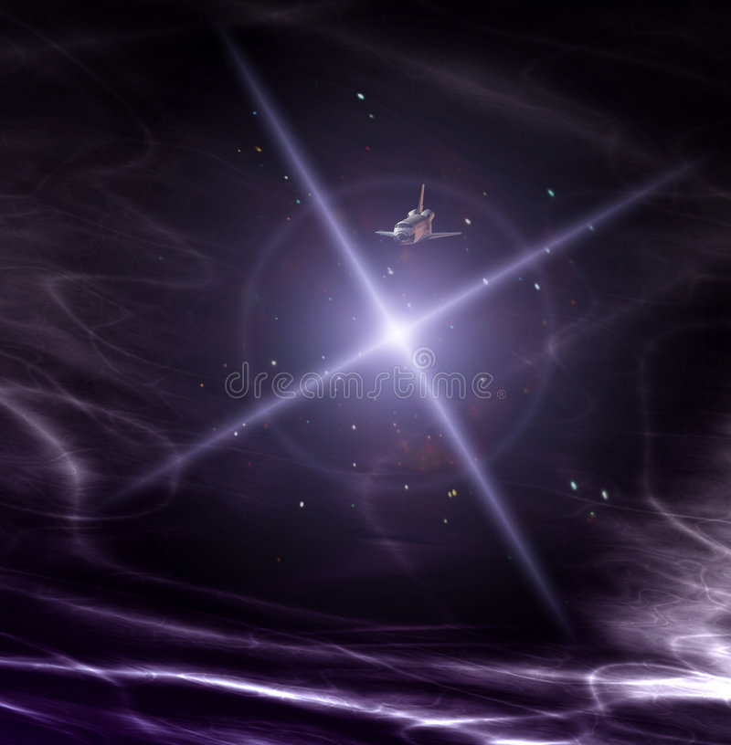 Download Statek kosmiczny 34 zdjęcie stock. Obraz złożonej z scena - 1858410
