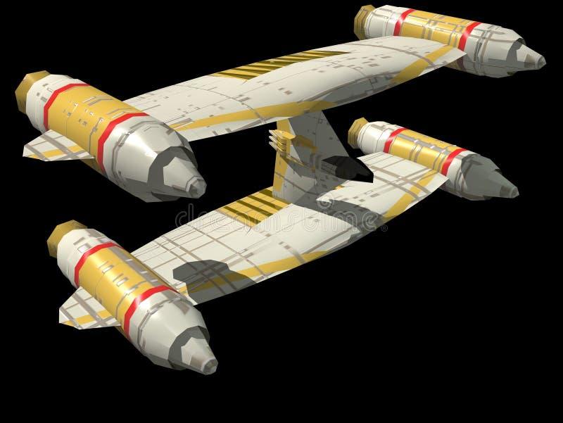 statek kosmiczny ilustracji