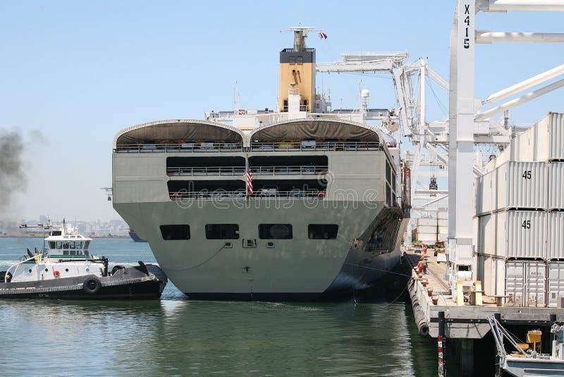 statek oskarżenia żurawi obrazy royalty free