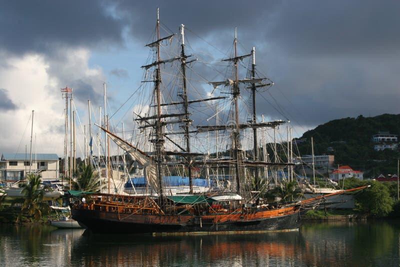statek piracki obrazy stock