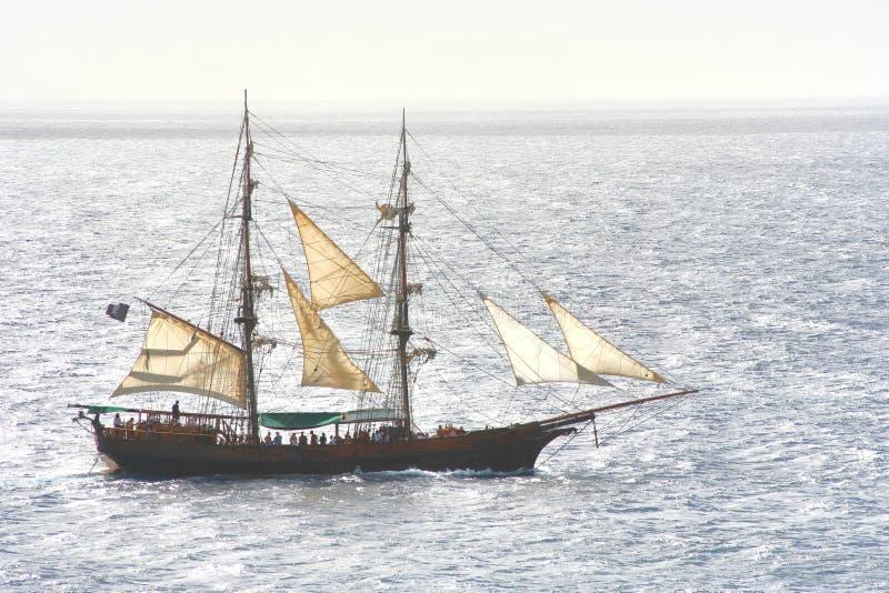 statek piracki obraz stock