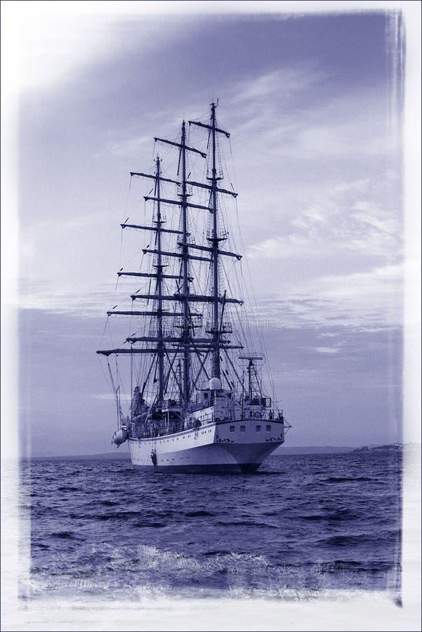 statek ' s sail. fotografia royalty free