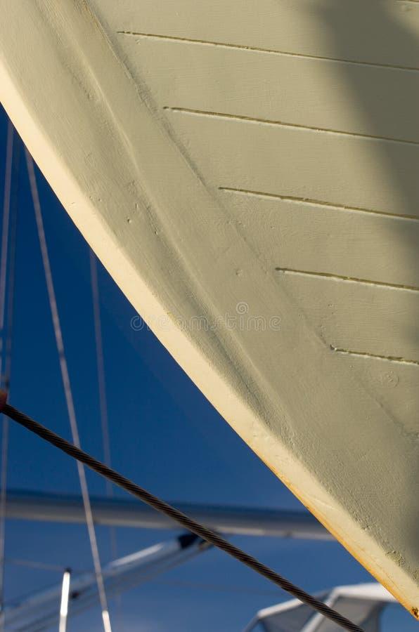 statek szczegółów doku suchej kadłuba fotografia stock