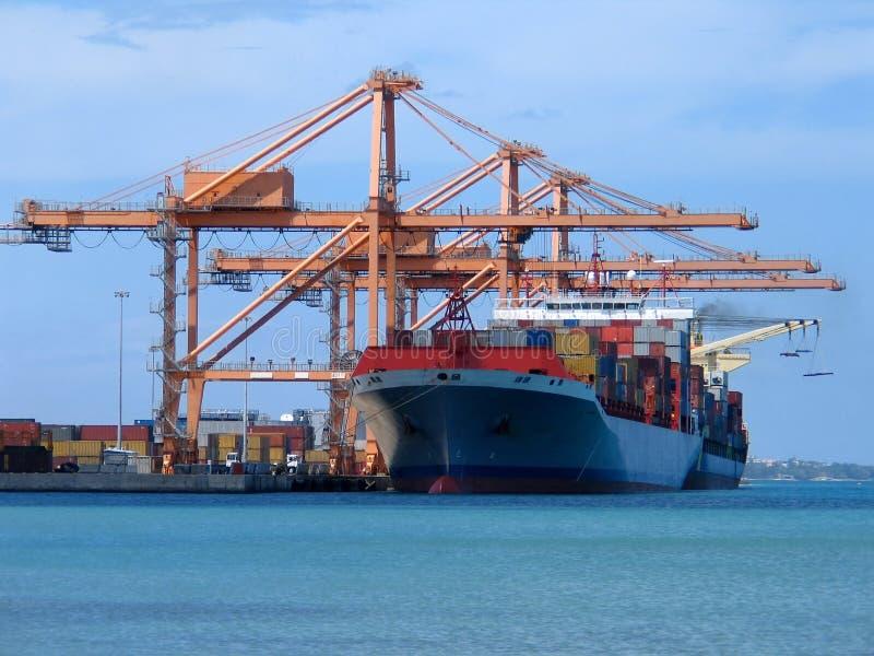 statek towarowy zdjęcie royalty free