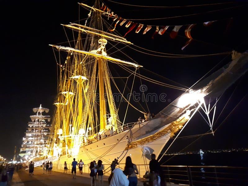 Statek w Rio De Janeiro obraz royalty free