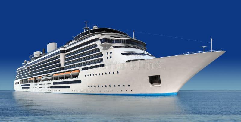 statek wycieczkowy ilustracji