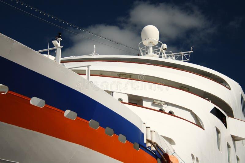 statek wycieczkowy, blisko zdjęcia stock