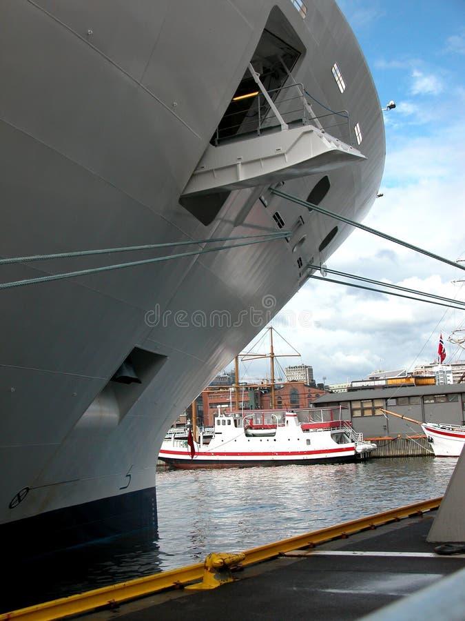 statek wycieczkowy bow zdjęcia stock