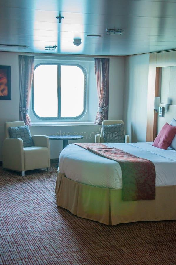 Statek wycieczkowy kabina zdjęcia stock