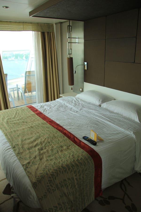 Statek wycieczkowy kabiny wnętrze obraz stock