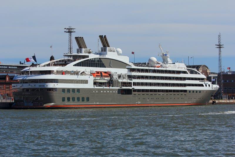 Statek wycieczkowy Le Borealny zdjęcie stock