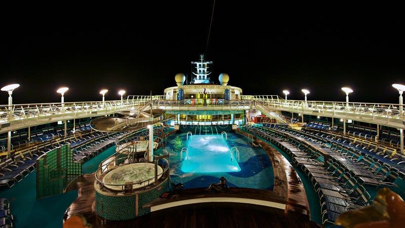 Statek Wycieczkowy Pokład zdjęcia stock