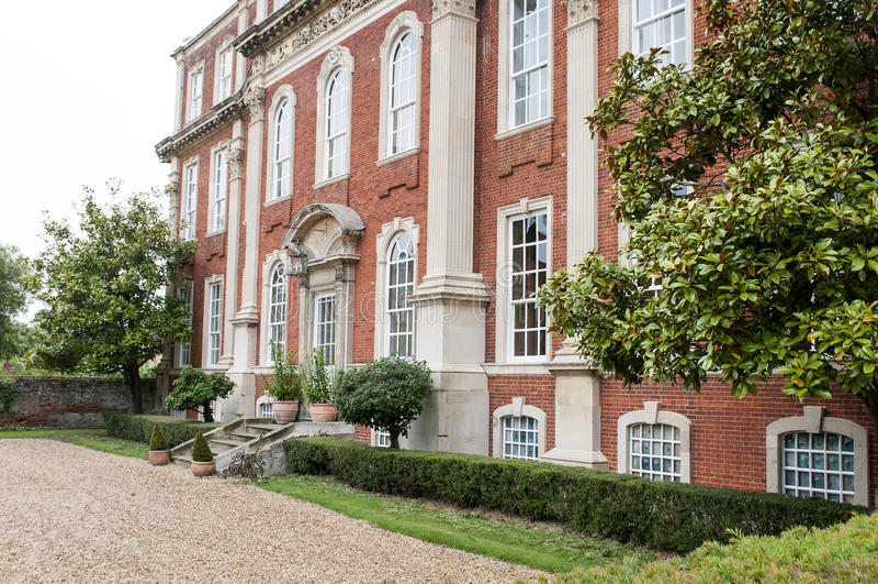 Download Stately Georgian mansion stock image. Image of residence - 31824065