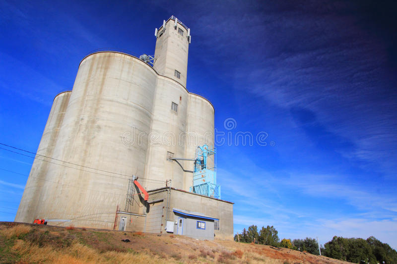A Stately Grain Elevator royalty free stock image