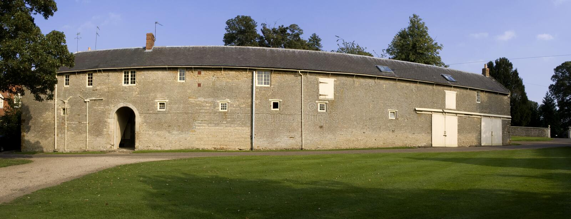 Stately home. Castle ashby northamptonshire midlands england uk royalty free stock photography