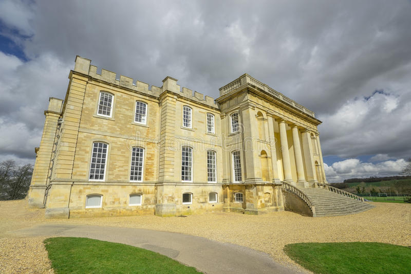 Stately Home in Cambridgeshire. UK. Imposing stately home near Cambridge. UK. A modern day private school stock photography