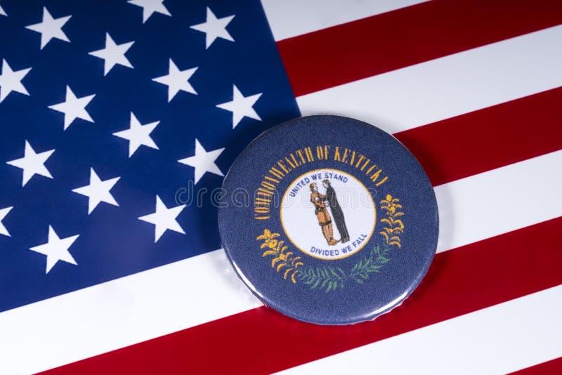 Staten av Kentucky i USA royaltyfria foton