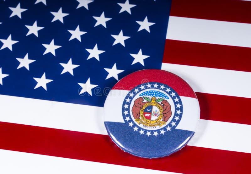 Staten av Missouri i USA royaltyfri foto