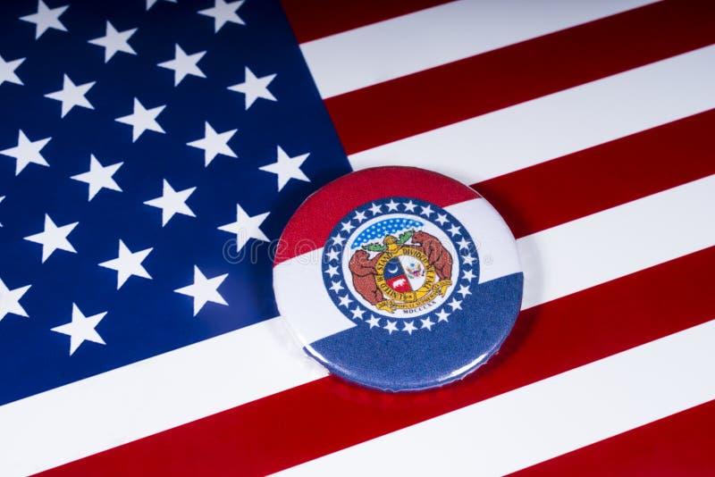 Staten av Missouri i USA arkivbild