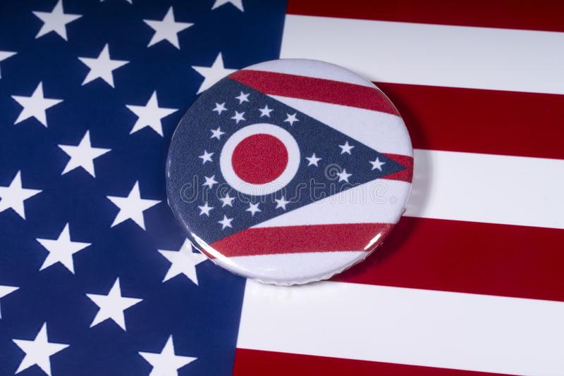 Staten av Ohio i USA royaltyfria bilder