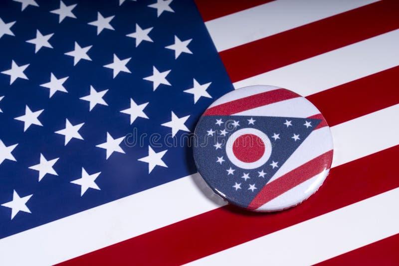 Staten av Ohio i USA royaltyfria foton
