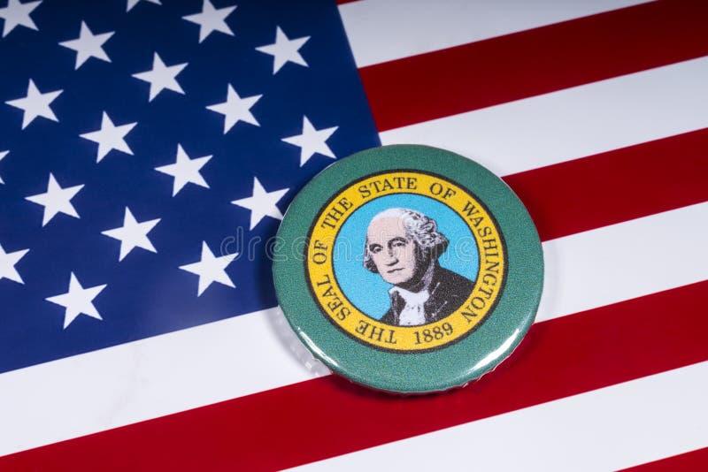 Staten av Washington arkivbilder