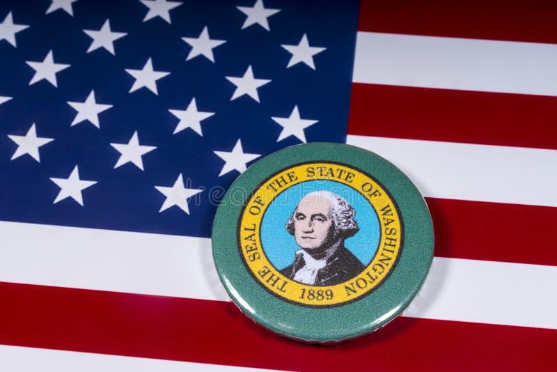 Staten av Washington royaltyfri foto