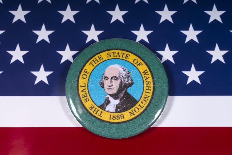 Staten av Washington royaltyfri bild