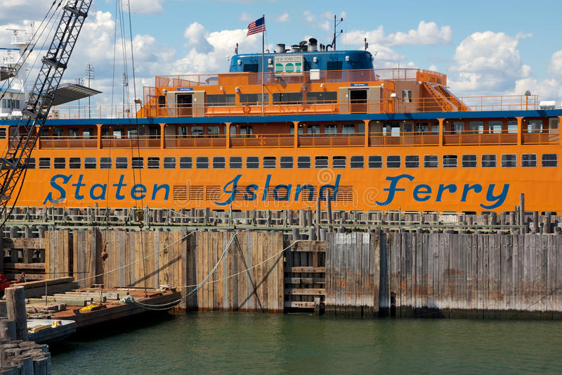 Staten Island Ferry lizenzfreie stockbilder