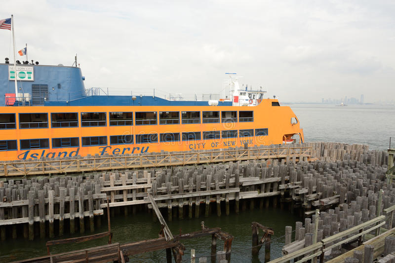 The Staten Island Ferry royalty free stock images