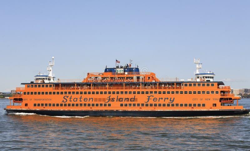 Staten Island Ferry, NYC, Etats-Unis photographie stock libre de droits