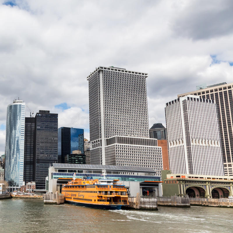 Staten Island Ferry royalty free stock photography