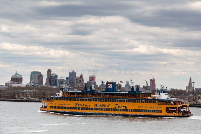 Staten Island prom zdjęcia stock
