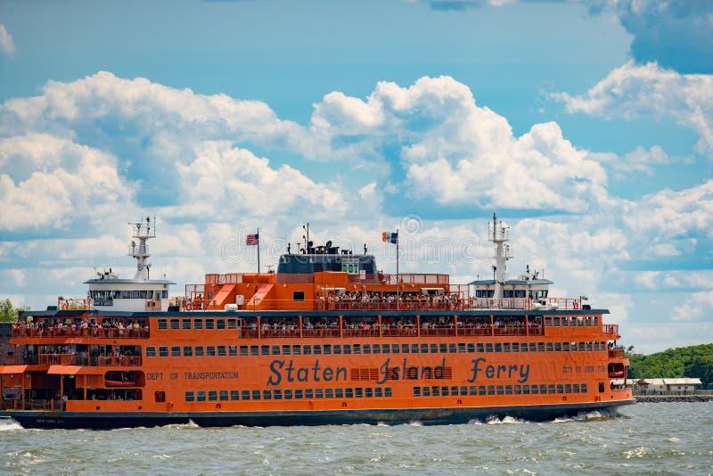 Staten Island prom Nowy Jork obrazy royalty free