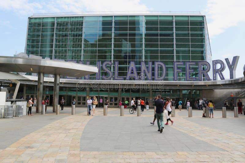 Download Staten Island Promu Whitehall Terminal W Manhattan Obraz Stock Editorial - Obraz złożonej z najlepszy, dojeżdżający: 41953619