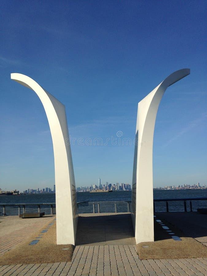 Staten Island September 11th Memorial. stock images