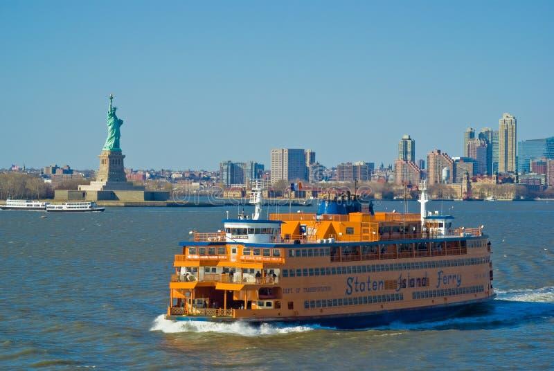 Staten- Islandfähre stockfotos
