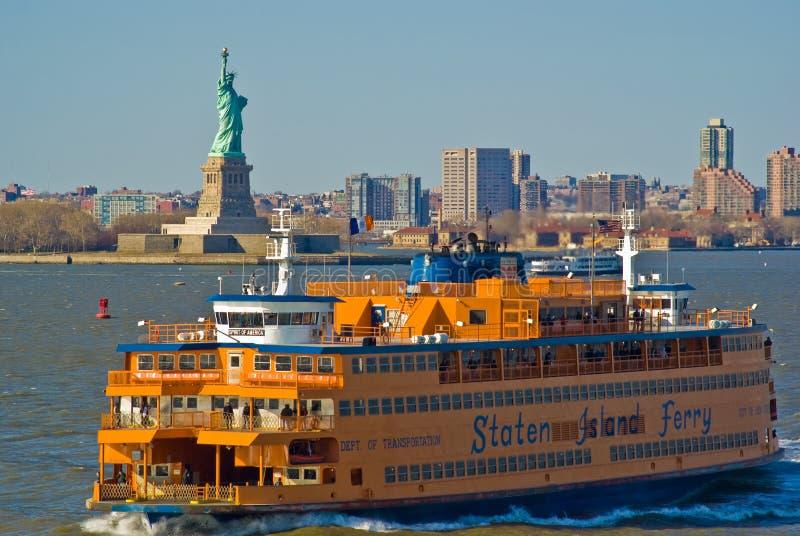 Staten- Islandfähre stockfotografie