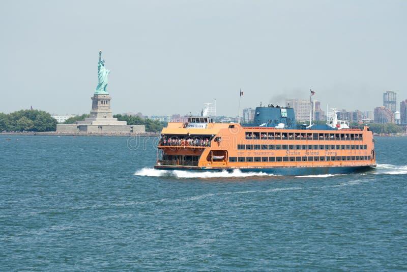 Staten- Islandfähre stockbild
