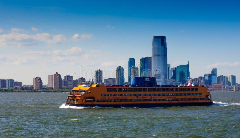 Staten Islandfähre stockfotos