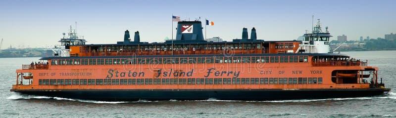 Staten- Islandfähre nach Manhattan, New York stockfoto