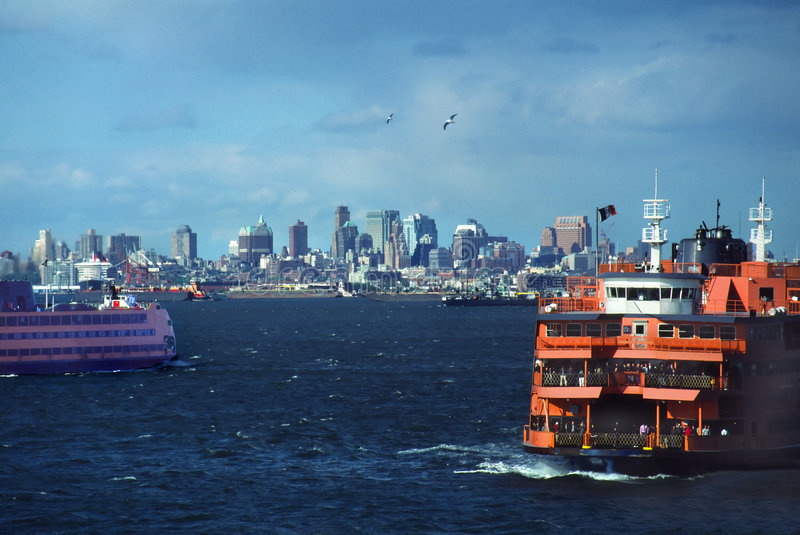Staten- Islandfähren lizenzfreies stockbild