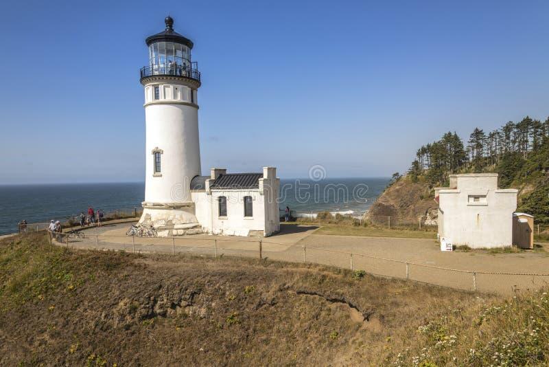 Staten Washington för uddebesvikelsefyr royaltyfri foto