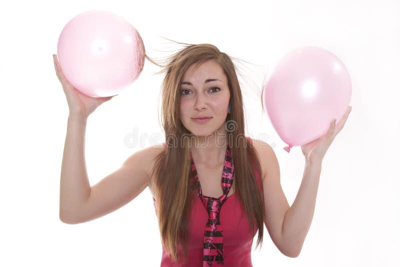 static электричества воздушного шара стоковая фотография rf